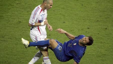 Zinedine Zidane (Foto: JOHN MACDOUGALL/Afp)