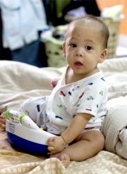 BORTFØRT: Lille Tristan skal ha blitt kidnappet av sin egen bestemor.  (Foto: Privat)