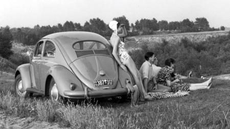 VW boble fra 1955