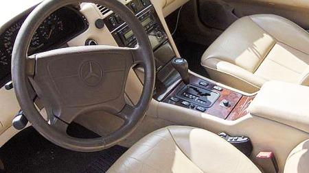 Mercedes-interiør (Foto: Privat)