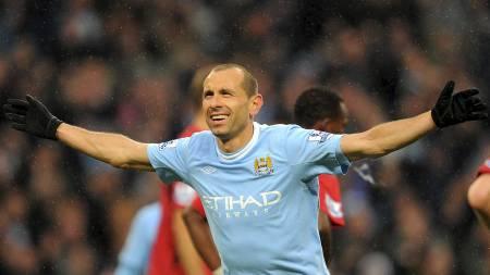 KLAR FOR BOLTON: Martin Petrov har funnet seg ny klubb i Premier League. (Foto: ANDREW YATES/AFP)