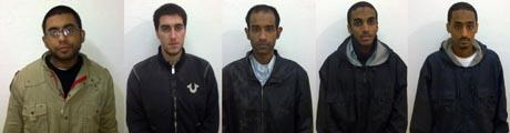 amerikanere dømt (Foto: HO, ©aq/tbr/fk)