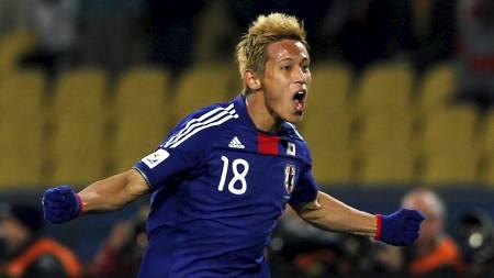 Keisuke Honda (Foto: MARCOS BRINDICCI/Reuters)