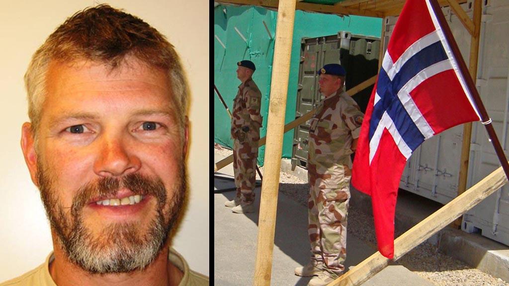 EN HELT: Orlogskaptein Trond André Bolle var en av Norges virkelige helter. Han omkom i Afghanistan søndag. (Foto: STR, ©MH/dd)