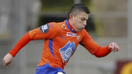 Pablo Herrera er ute med skade for Aalesund. (Foto: Ekornesvåg, Svein Ove/SCANPIX)