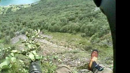 Utsikten til Filip Ainouz (Foto: 330-Skavdronen/HRS)