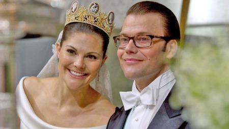 kronprinsesse Victoria av Sverige og prins Daniel (Daniel Westling) (Foto: Scanpix)