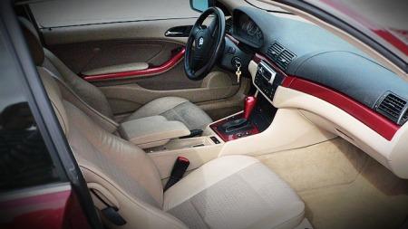 BMW 3-serie E46 interiør