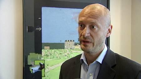 Statssekretær Roger Solheim (Ap) i Kulturdepartementet. (Foto: TV 2/)