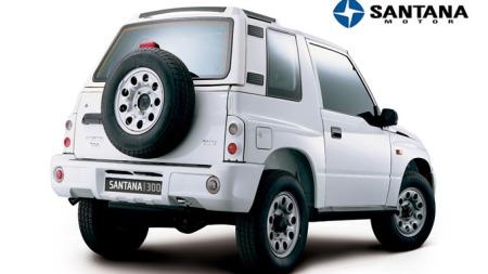 Dette er Santana 300. Og nei - du tar ikke feil hvis du synes det er noe veldig kjent med dette designet!