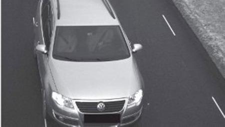 BEVISET: Her er beviset på at du blir fotografert uansett hvor i veibanen du ligger. Foto: Bro- og tunnelselskapet AS/gd.no/ANB