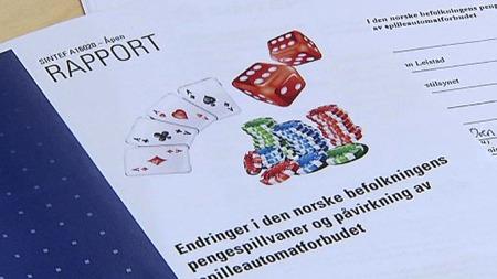 NY RAPPORT: Slår fast at tallet på nordmenn med spilleproblemer raskt er på vei ned.  (Foto: TV 2)