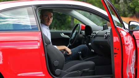 Informasjonssjef hos Audi i Norge, Marius Tegneby.
