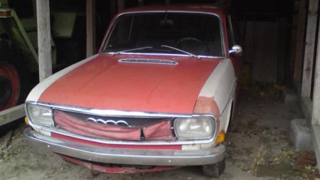 Audi 80 Varian foran