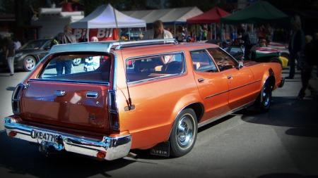 Ford LTD II Bak