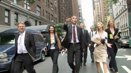 VIL MØTE FBI: Statsminister Jens Stoltenberg er i New York for å lede et møte i FNs klimagruppe, men ønsker samtidig å møte representanter fra FBI for å lære mer om terroretterforskning. (Foto: TV 2)