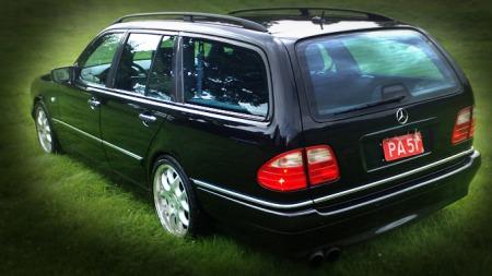 Mercedes-Benz E-klasse Brabus 5,8 bak