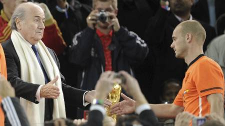 Sepp Blatter (Foto: JAVIER SORIANO/Afp)