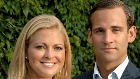 LYKKEN BRAST: Prinsesse Madeleine   og Jonas Bergström brøt forlovelsen i april. Nå har Jonas flyttet inn   på gutterommet hos foreldrene. (Foto: Stella Pictures)