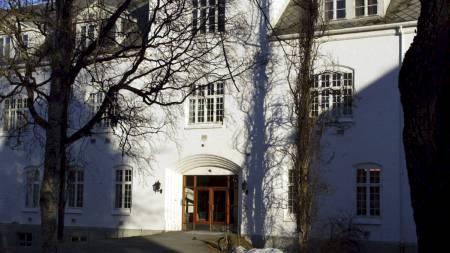 RØMTE HERFRA: Ved St. Olavs hospital avdeling Brøset sonet Torbjørn Kjelstad (27). (Foto: Kallestad, Gorm/SCANPIX)