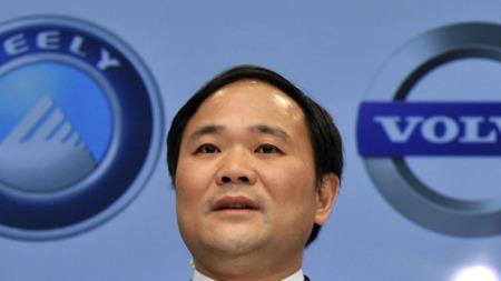 Geely-sjef Li Shufu har store planer for Volvo. (Foto: Scanpix)