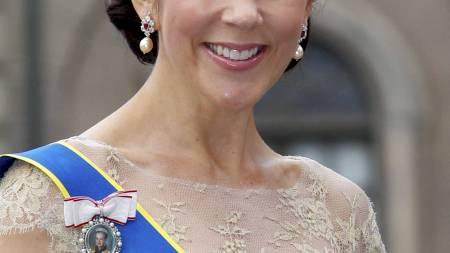 TVILLINGER: Kronprinsesse Mary av Danmark ble innlagt på fødestuen lørdag. (Foto: Åserud, Lise/Scanpix)