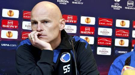 MØTER RBK: Ståle Solbakken og FC København. (Foto: Casper Christoffersen/Scanpix)