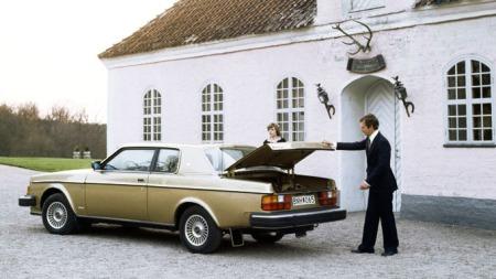 Slik ser den ut bakfra. dette er en 1979 / 80 modell. (Foto: Volvo)