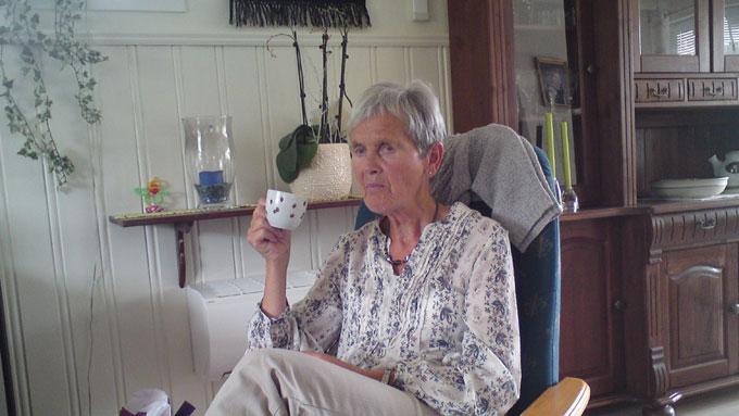 SAVNET: Wenche Egholm (73) fra Grimstad er savnet i området Øvre Birtedalen ved Fyresdal. (Foto: Privat)