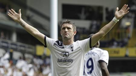 TIL USA: Robbie Keane er ferdig i Tottenham og drar til LA Galaxy. (Foto: IAN KINGTON/Afp)