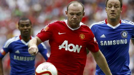 Wayne Rooney, John Terry (Foto: Sean Dempsey/Pa Photos)