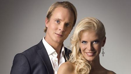 Petter Pilgaard og Mari Haugersveen. (Foto: Erik Faukland)