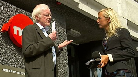 REGELVERK: Seksjonssjef i Nav, Tron Helgaker, forteller at de forholder seg til et regelverk, men vil ikke uttale seg om den konkrete saken. (Foto: TV 2)