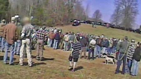 Folkeforlystelse bjørnejakt Sør-Carolina (Foto: Humane society of the United States)