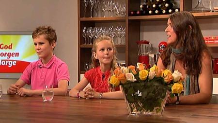 Familien Bøe Synnevåg forteller om hvordan de takler sorgen   over sin tapte mann og far. (Foto: God morgen Norge)