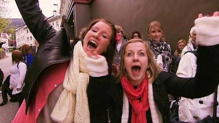 HÅPER PÅ SUKSESS: Fra audition til årets X Factor. (Foto: TV 2)