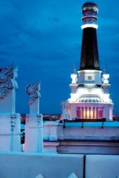 Madrid bader i ekstrem arkitektur og design.