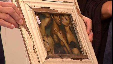 Har du et gammelt vindu eller materiale kan du lage en ramme selv. Det behøver ikke å koste mye.  (Foto: God morgen Norge)