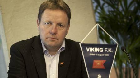 SLITER: Bjarne Berntsen og Viking sliter med økonomien. (Foto: Hansen, Alf Ove/Scanpix)