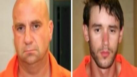 TO TILTALTE: Straffesaken mot Steven Hayes (til venstre) startet torsdag.
