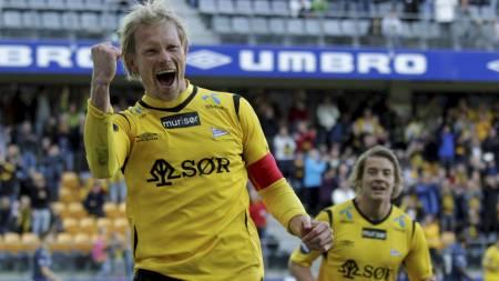 Ole Martin Årst scoret 64 mål på 158 Tippeliga-kamper for Tromsø   i periodene 1995 til 1997 og 2003 til 2007. (Foto: Schrøder, Tor Erik/Scanpix)