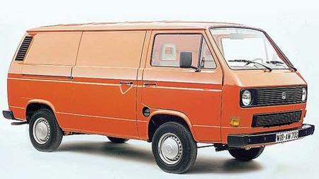 Ingen Caravelle. Men en Transporter - varebilutgaven. Foto: Volkswagen
