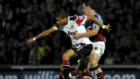 DEBUTERTE: Bebé spilte sin første A-lagskamp for United. (Foto: NIGEL RODDIS/Reuters)