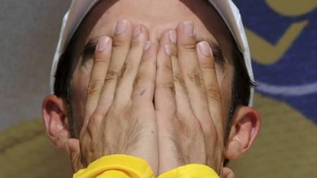 DOPTATT: Alberto Contador. (Foto: PASCAL PAVANI/Afp)