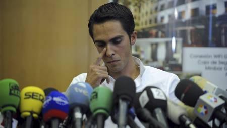 Alberto Contador (Foto: PEDRO ARMESTRE/Afp)