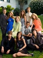 Gjengen i nye Beverly Hills 90210. (Foto: Presse)