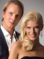 Petter Pilgaard og Mari Haugersveen. (Foto: Presse)