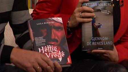 Pakistan sett med to kvinners øyne. Laila Bokhari og Kristin Solberg er begge ute med bøker om det sammensatte og varierte landet.  (Foto: God morgen Norge)