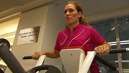 For tre år siden valgte hun å endre kurs, og ble treningsinstruktør. Hun er nå daglig leder på Golds Gym i Lillestrøm. - Jeg har møtt mye motbør og mange fordommer, sier Rask.  (Foto: arkiv)