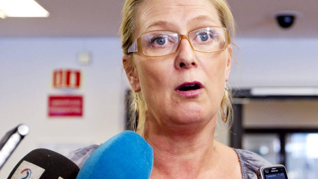 ÅPNER OPP: Statssekretær Gina Lund i Arbeidsdepartementet sier regjeringen vil la Nav melde fra til UDI ved trygdemisbruk. (Foto: Håkon Mosvold Larsen/NTB scanpix)